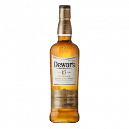 DEWARS 15YRS w/ GB 750ML