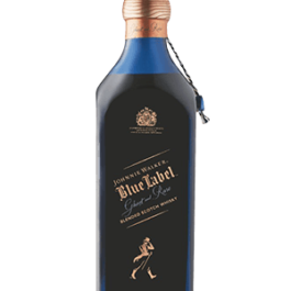 JOHNNIE WALKER BLUE LABEL GHOST AND RARE GLENURY ROYAL 1L