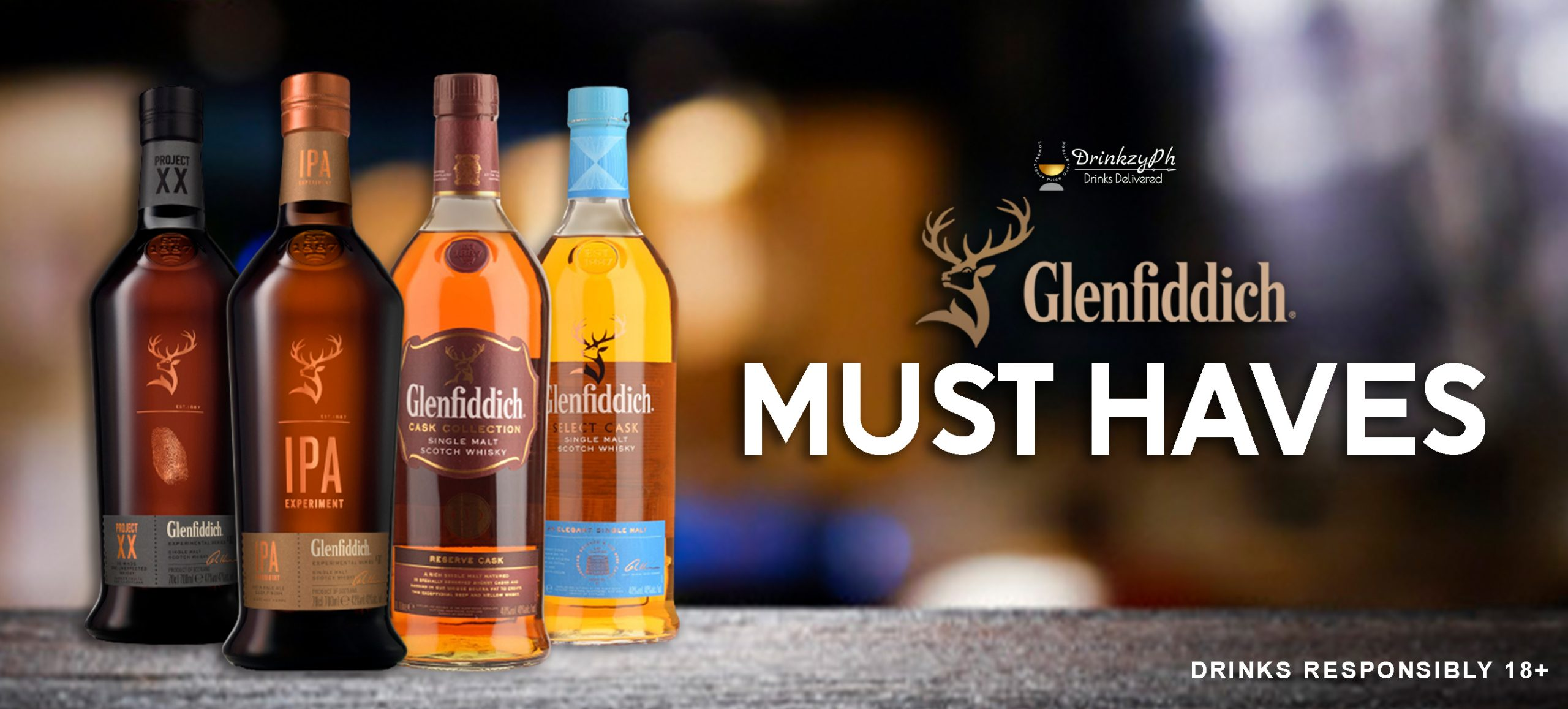 GLENFIDDICH XXIPACASKSELECT SITE