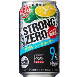SUNTORY STRONG ZERO SHEKWASHA 350ML