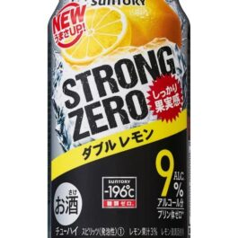 SUNTORY STRONG ZERO DOUBLE LEMON 350ML