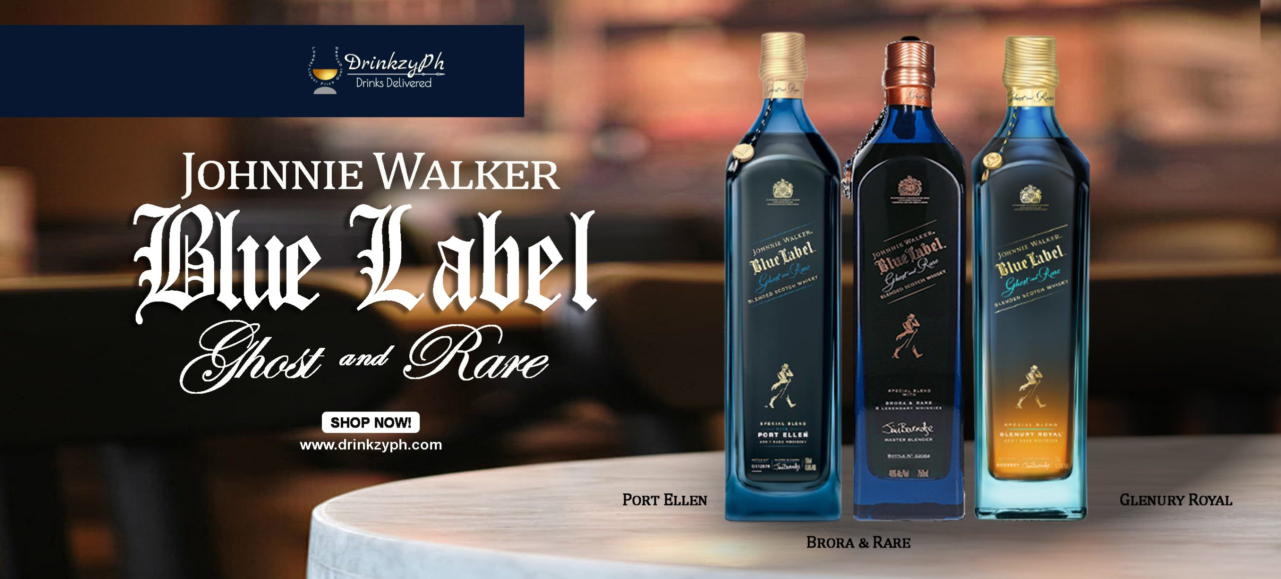 BLUE LABEL GHOST RARE COLLECTION SITE