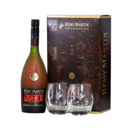 REMY MARTIN VSOP HOLIDAY GIFT PACK