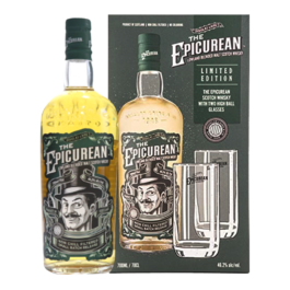 EPICUREAN SMALL BATCH 700ML WITH FREE 2 HIGHBALL GLASSES