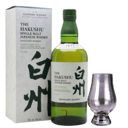 SUNTORY HAKUSHU SINGLE MALT WHISKY 700ML FREE SNIFTER