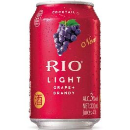 RIO LIGHT COCKTAIL GRAPE+BRANDY 330ML(6 CANS)