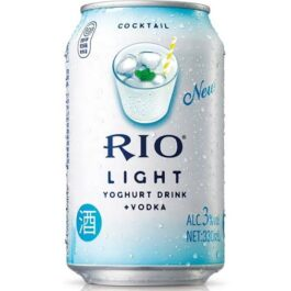 RIO LIGHT COCKTAIL YOGHURT+VODKA 330ML(6 CANS)