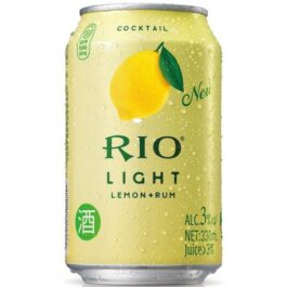 RIO LIGHT COCKTAIL LEMON+RUM 330ML (6 CANS)
