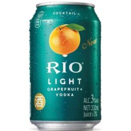 RIO LIGHT COCKTAIL GRAPEFRUIT+VODKA 330ML(6 CANS)