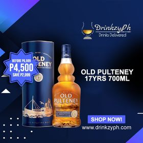 Old Pulteney 17yrs old 700ml