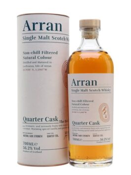 ARRAN QUARTER CASK 56.2% 700ML