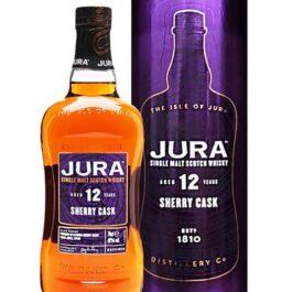 JURA 12YRS SHERRY CASK 700ML 40%ABV(TAIWAN EXCLUSIVE)
