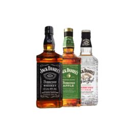 BUY 2 TAKE 1JACK DANIEL'S 1LWINTER JACK CINDER 700ML(FREE)JACK DANIEL'S APPLE 700ML